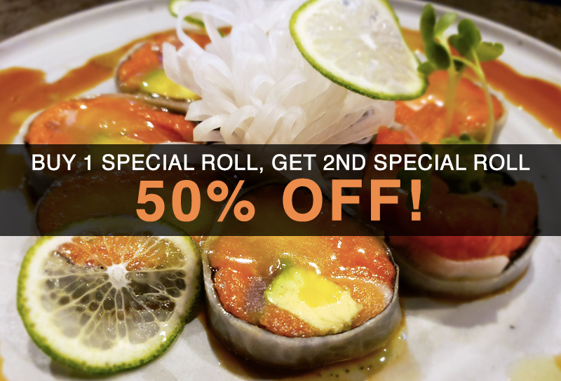 Yuki Izakaya - Special Roll Offer